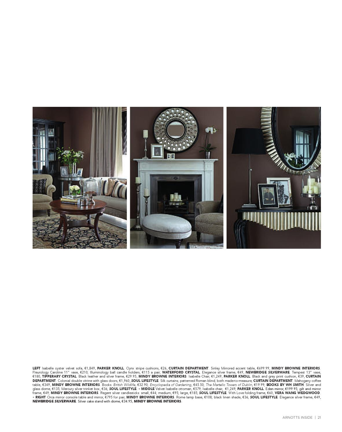 Arnotts inside home magazine by arnotts issuu