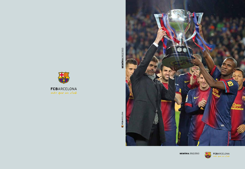 0290454ae8741 Memòria FC Barcelona 2012 13 (CAT) by FCBarcelona cat - issuu