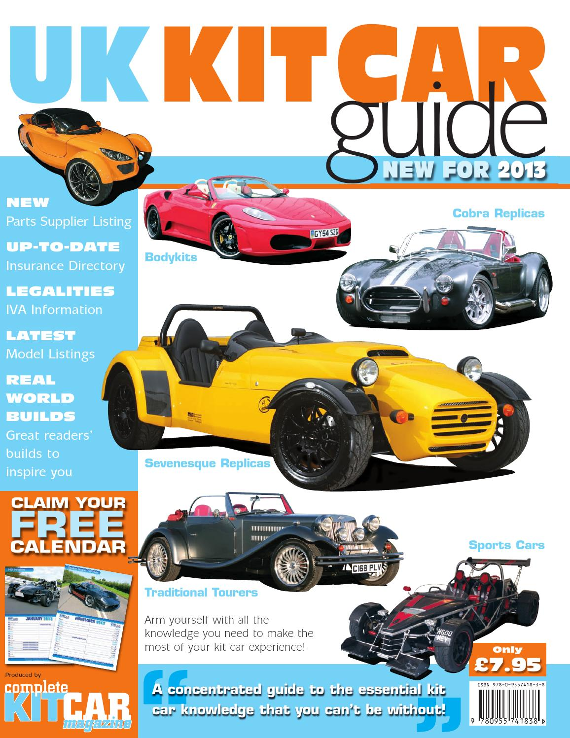 uk kit car guide 2013 by performance publishing ltd issuu. Black Bedroom Furniture Sets. Home Design Ideas