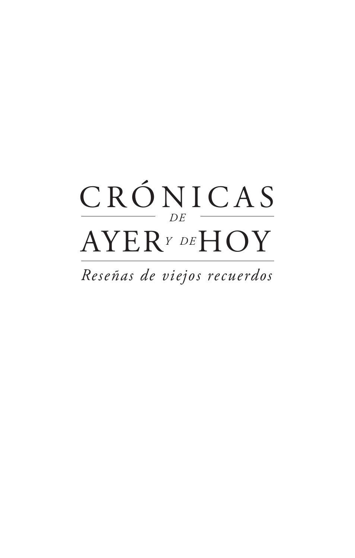 Cronicas by Federico Salazar - issuu