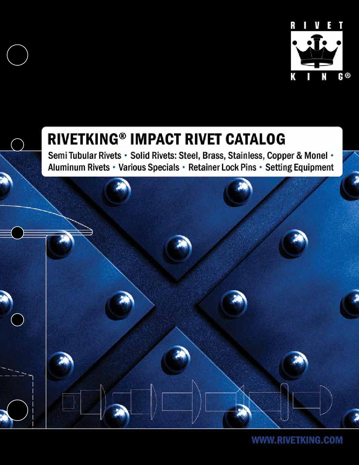 Rivetking Impact Rivet Catalog By Industrial Rivet