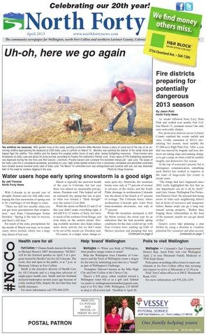 North forty news april 2013 by north forty news issuu page 1 fandeluxe Gallery