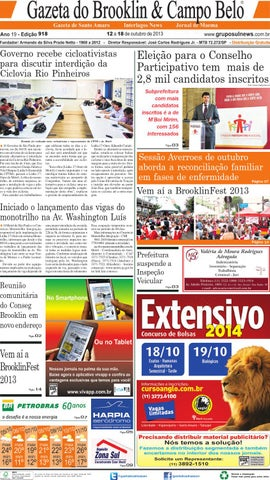 e0d0a3c7585 Edição 918 - 12 a 18 de Outubro de 2013 by Grupo Sul News - issuu