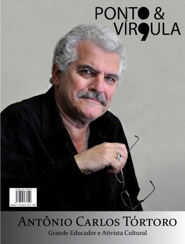 """Cover of """"Revista Ponto & Vírgula - Ano 1 - Edição 09 - Setembro 2013"""""""