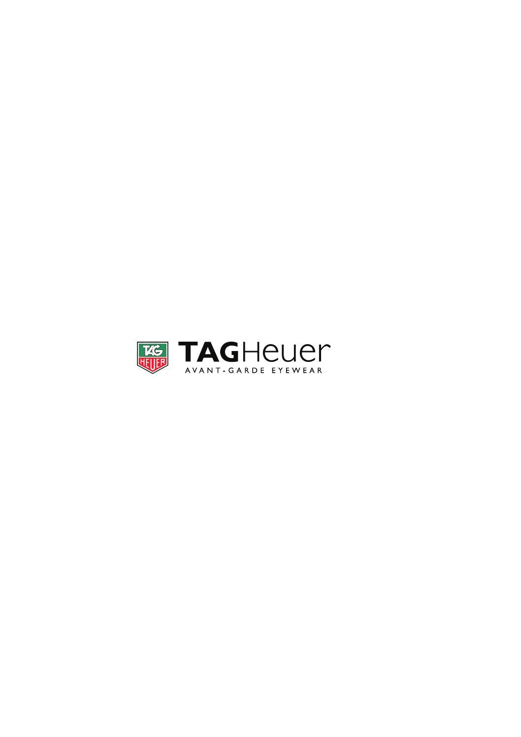 b6ca18bdb29da TAG HEUER Avangard Eyewear 2012 by РЕСПЕКТОПТИКА - issuu