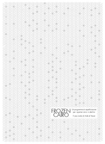 frozen cairo by francesco tonnarelli - issuu - Gazebo Unico Progetta Impresa Stecca Balaustra