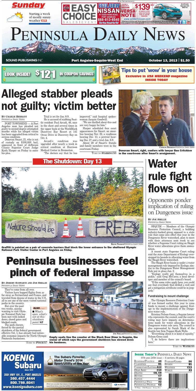 5ad0f441 Sxdcfvgbhnjmkpdn20131013c by Peninsula Daily News & Sequim Gazette - issuu