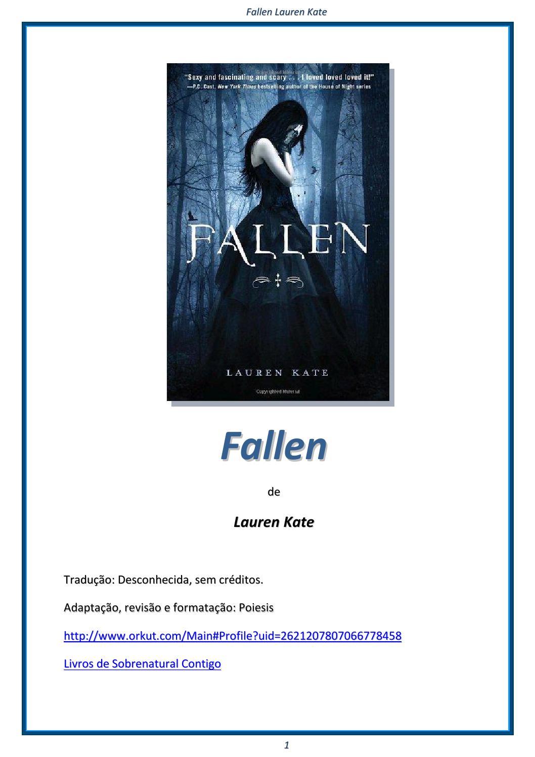 5955b18972c23 Lauren kate série fallen 1 fallen by Gabiiz Pattz - issuu