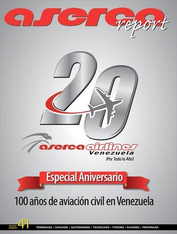 pretty nice d74f7 bcac6 Especial Aniversario 100 años de aviación civil en Venezuela Edición número
