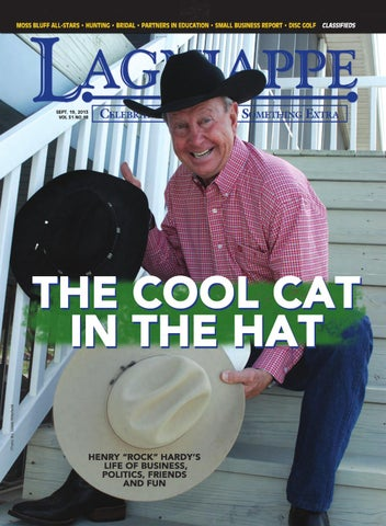 1ac217bf425 The Cool Cat in the Hat by Lagniappe Magazine - issuu