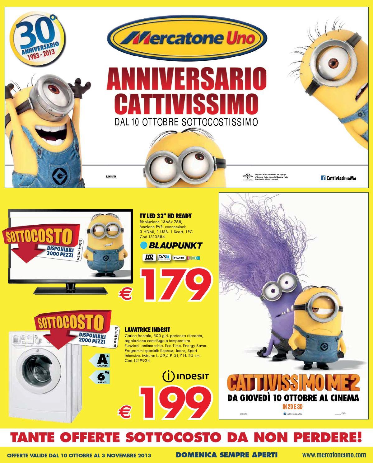 Materasso Ortopedico Gemma Mercatone Uno.Mercatoneuno Catalogo 10ottobre 3novembre2013 By