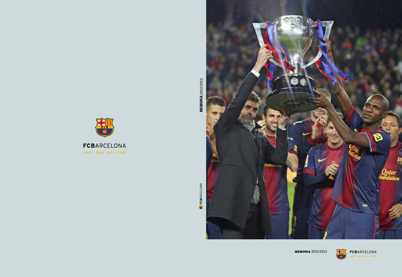 Memoria FC Barcelona 2012 13 (ESP) by FCBarcelona cat - issuu b656b53d570