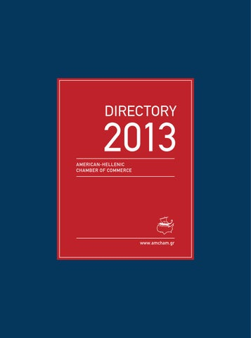 Directory 2013 by Raymond Matera Publishing - issuu