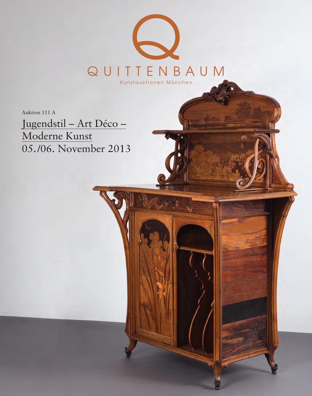 auction 111a art nouveau art deco modern classic quittenbaum art auctions by quittenbaum. Black Bedroom Furniture Sets. Home Design Ideas