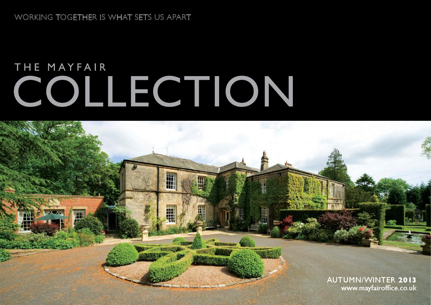 Mayfair Collection Autumn Winter 2013 By PelusaCreate