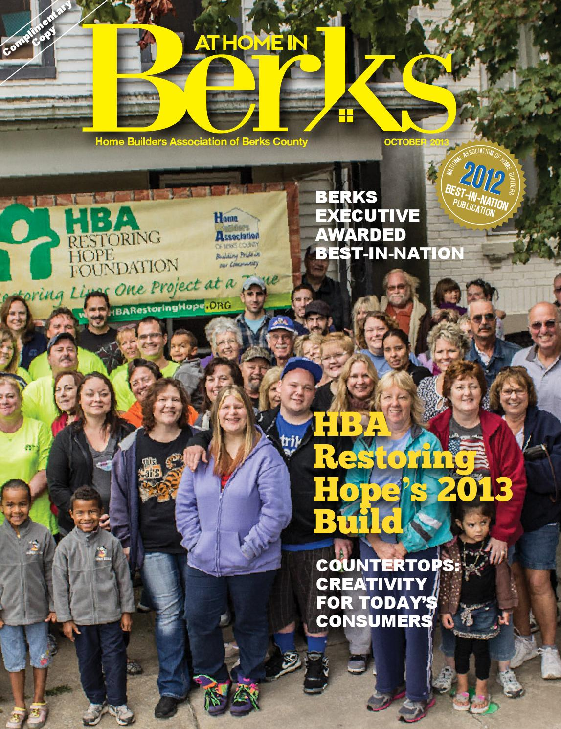 At Home In Berks October 2013 By Hoffmann Publishing Group