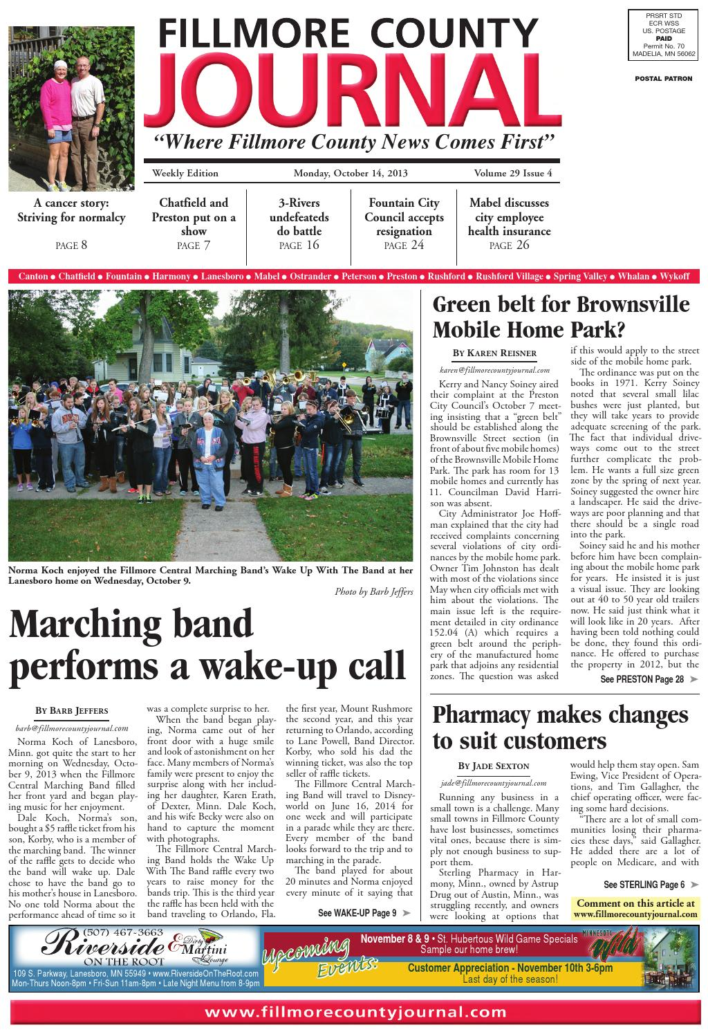 b58c7ae71847 Fillmore County Journal 10.14.13 by Jason Sethre - issuu