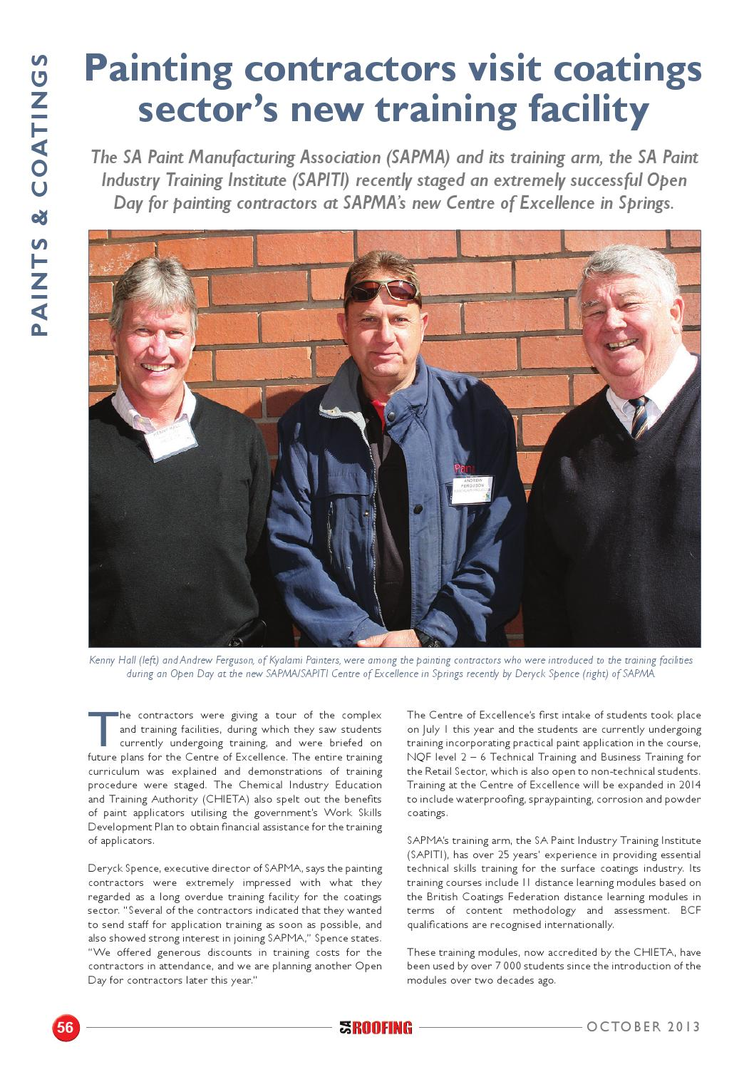 Sa Roofing October 2013 Issue 54 By Trademax