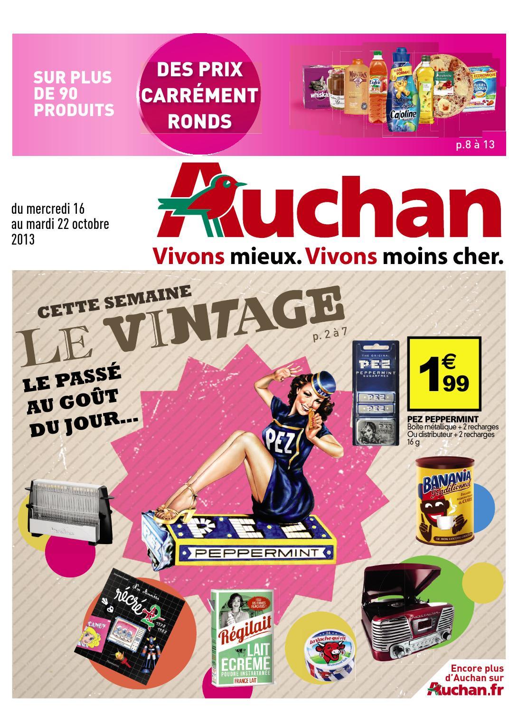 Baskets 2018 pourtant pas vulgaire profiter de gros rabais Catalogue Auchan - 16-22.10.2013 by joe monroe - issuu