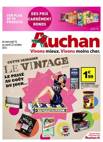 16 Catalogue By 2013 Joe 22 Auchan Monroe 10 Issuu iZuOkPX