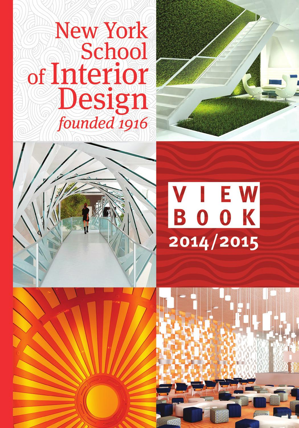 Nysid Viewbook 2014 2015 By New York School Of Interior Design Issuu