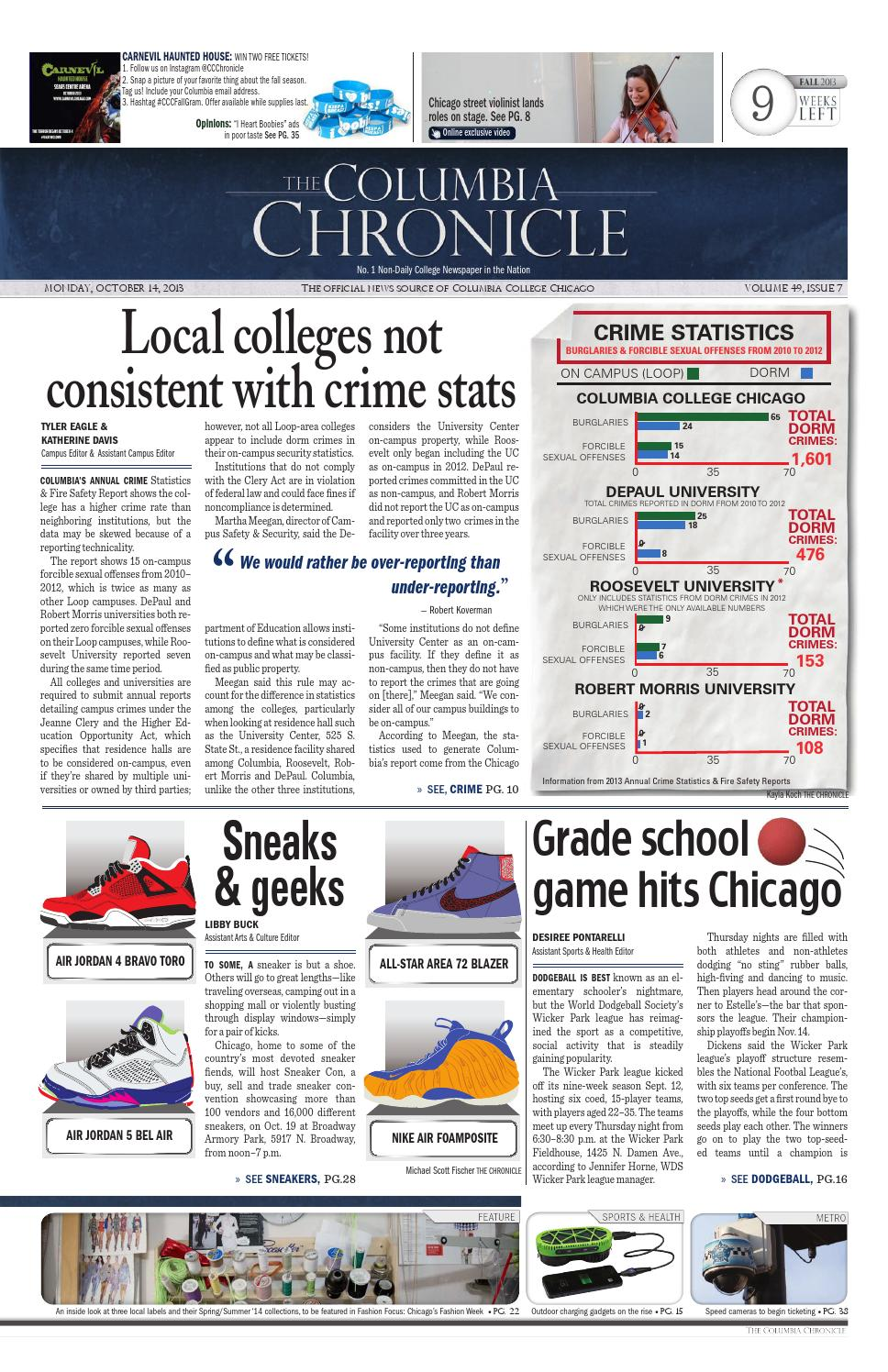 978f99e094a766 The Columbia Chronicle - October 14