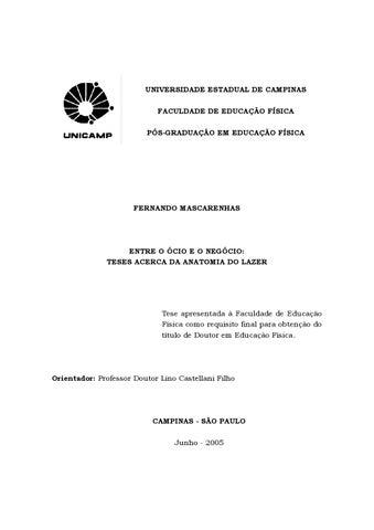 48890331 Tese de doutorado entre o ócio e o negócio by juscazev - issuu