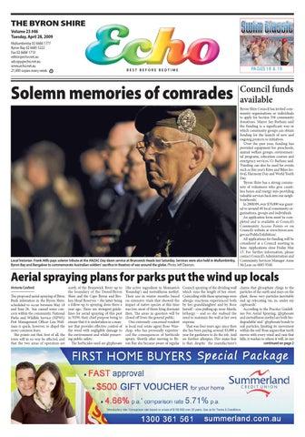 byron shire echo issue 23 46 28 04 2009 by echo publications issuu