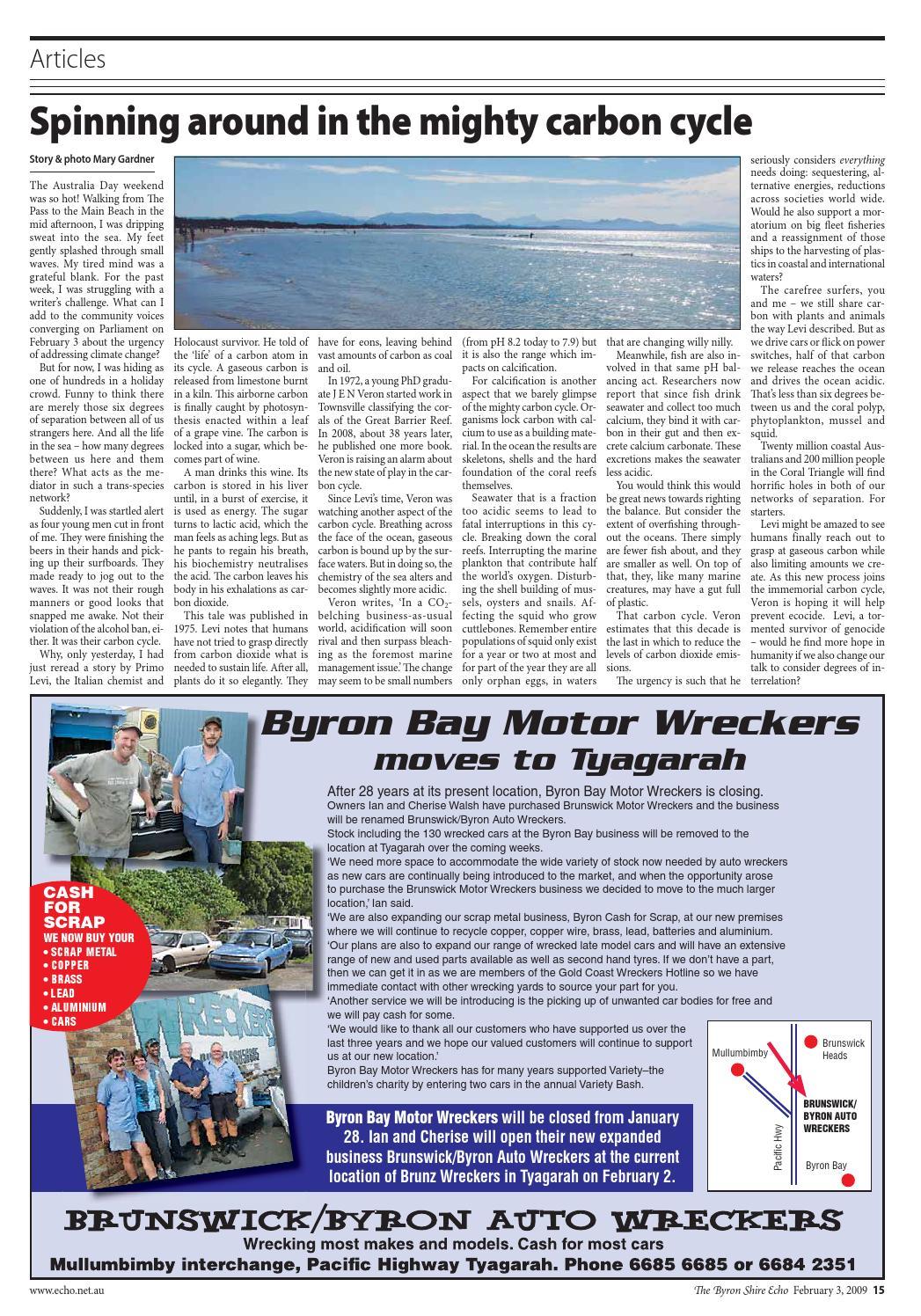 Byron Shire Echo – Issue 23 34 – 03/02/2009 by Echo