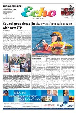 5998178c45ca Byron Shire Echo – Issue 23.26 – 02 12 2008 by Echo Publications - issuu