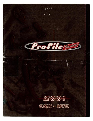 2001 Profile Racing Catalog by Peter Harvey - issuu