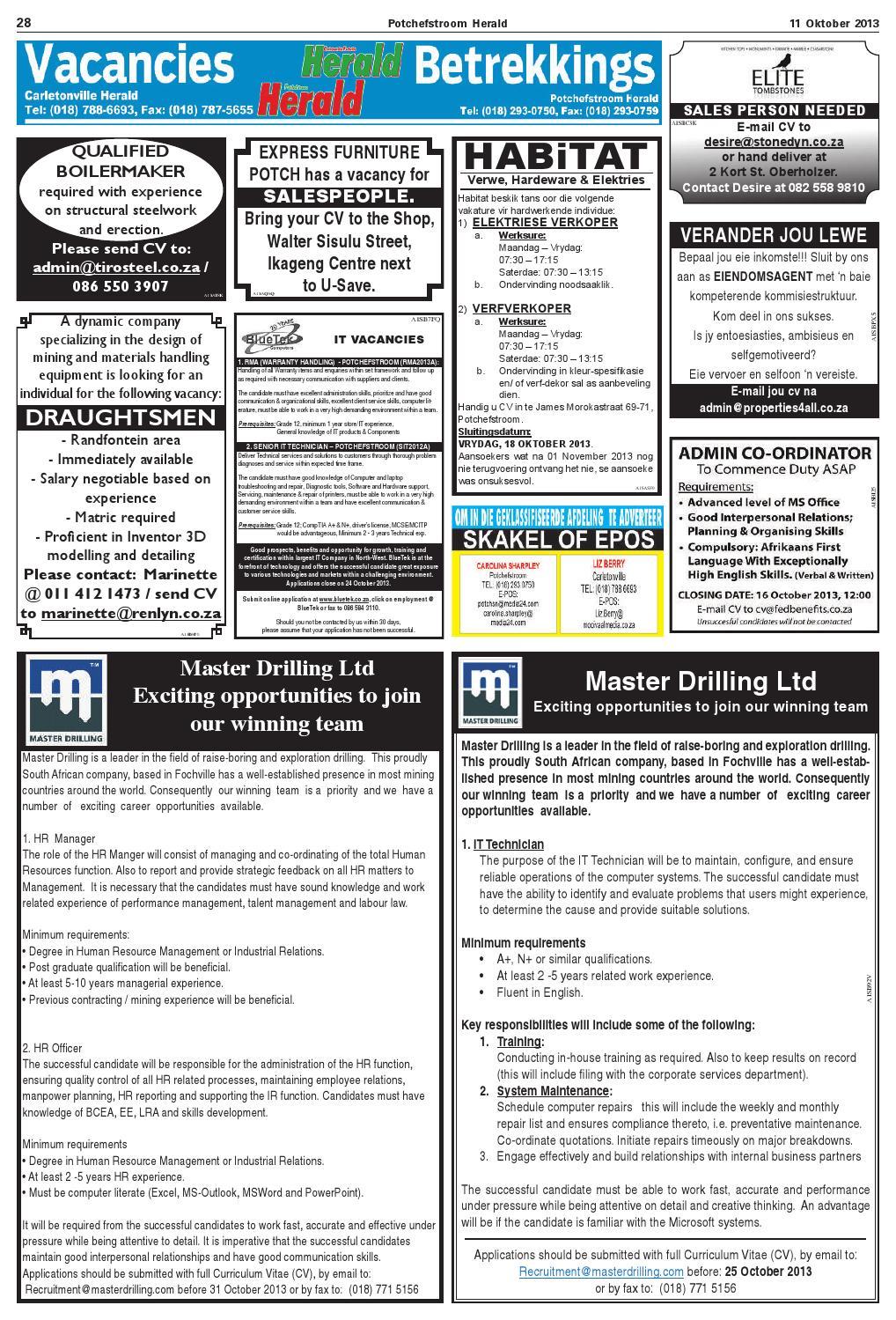 Potchefstroom Herald 10 Oktober 2013 by Potchefstroomherald