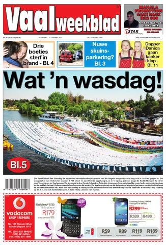 Vaalweekblad 10 Oktober 2013 By Vaalweekblad - Issuu