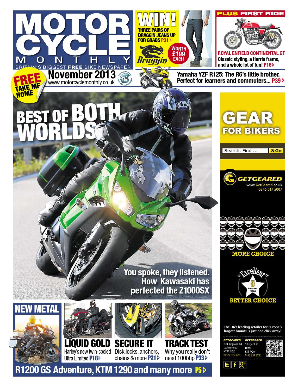 Motor Cycle Monthly November 2013 Full Edition By Mortons Media Yamaha Fzr400 Digital Ignition Control System Group Ltd Issuu