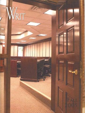 ab3690245 The Writ (Fall 2005) by ONU Communications   Marketing - issuu