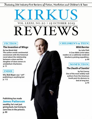 October 15 2013 Volume Lxxxi No 20 By Kirkus Reviews Issuu
