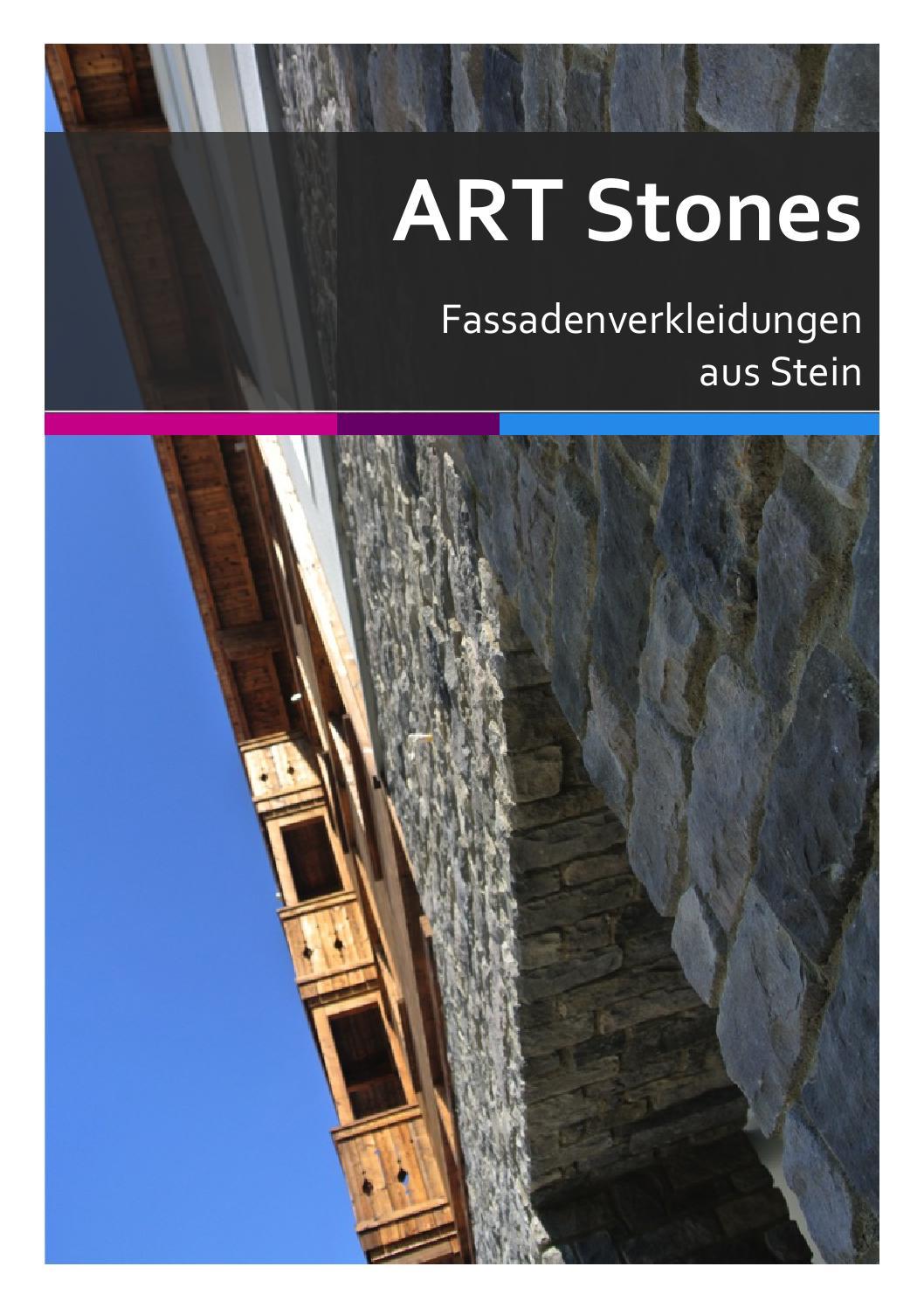 art stones fassadenverkleidungen aus stein by art stones. Black Bedroom Furniture Sets. Home Design Ideas