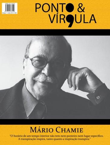 """Cover of """"Revista Ponto & Vírgula - Ano 1 - Edição 07 - Julho 2013"""""""