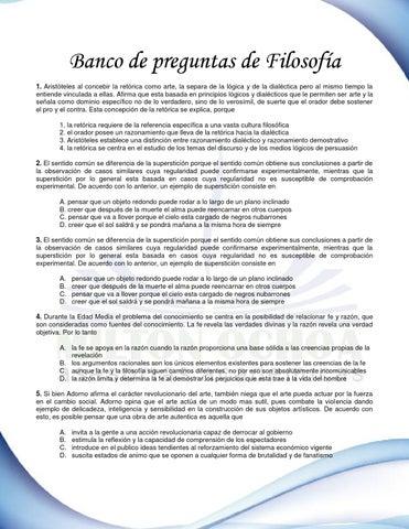 Banco de preguntas pruebas saber filosof a by pedro soto issuu - Como saber si una casa es del banco ...