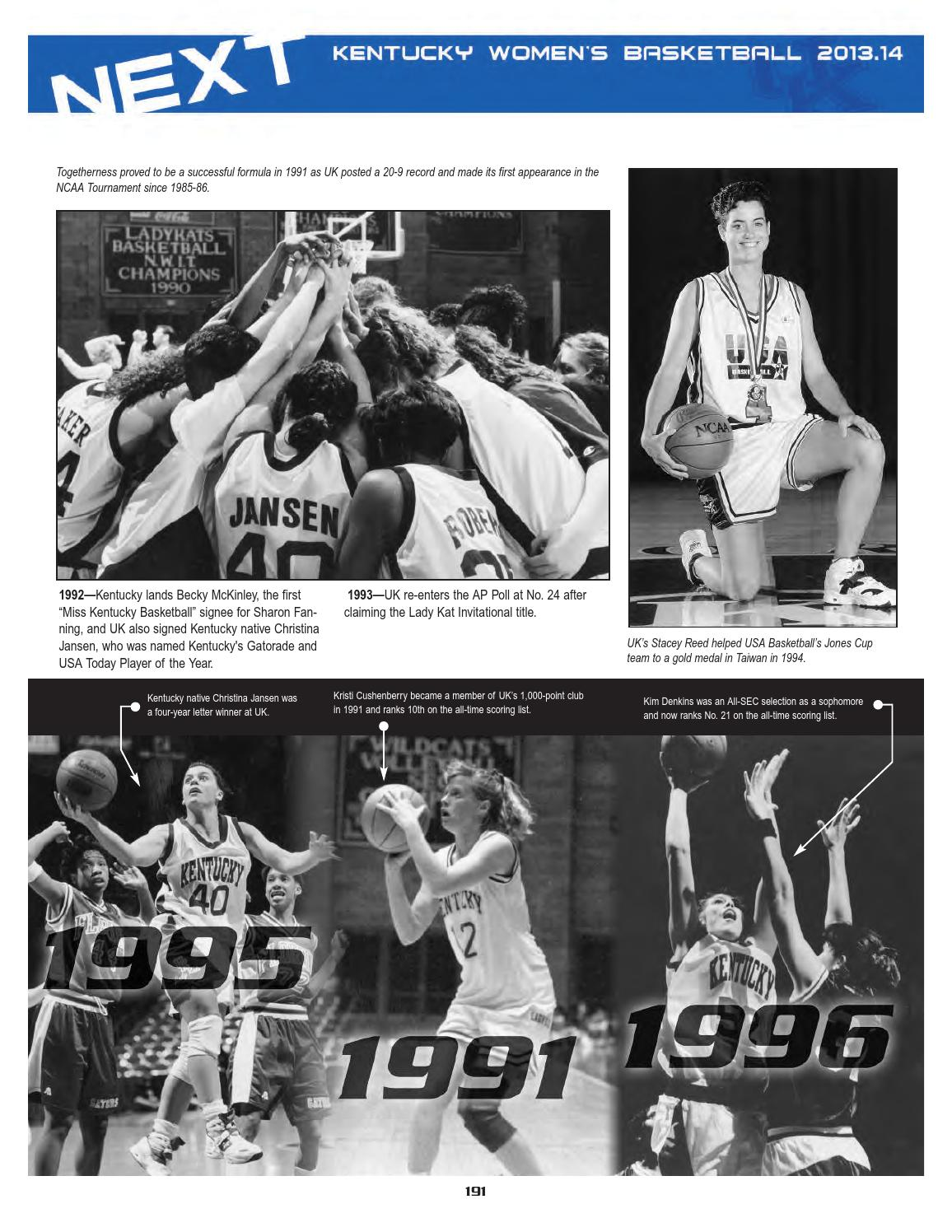 2013 14 Uk Women S Basketball Media Guide By University Of Kentucky Athletics Issuu