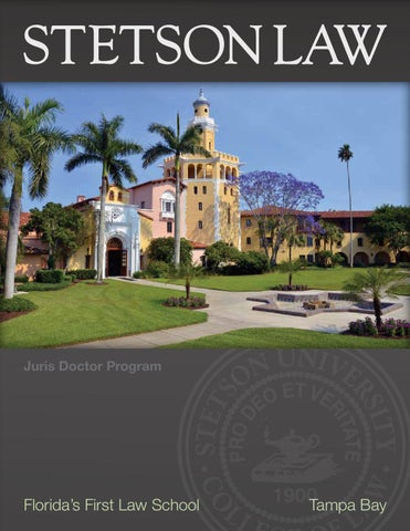 c29fc348 Stetson Law 2013-14 Viewbook by Stetson University College of Law ...