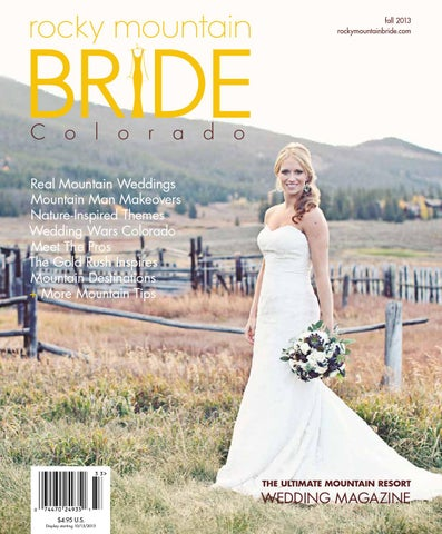 Rocky mountain bride magazine colorado fall 2013 by rocky mountain page 1 malvernweather Gallery
