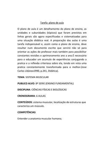 Tarefa Plano De Aula Utfpr By Niedja Barthel Issuu