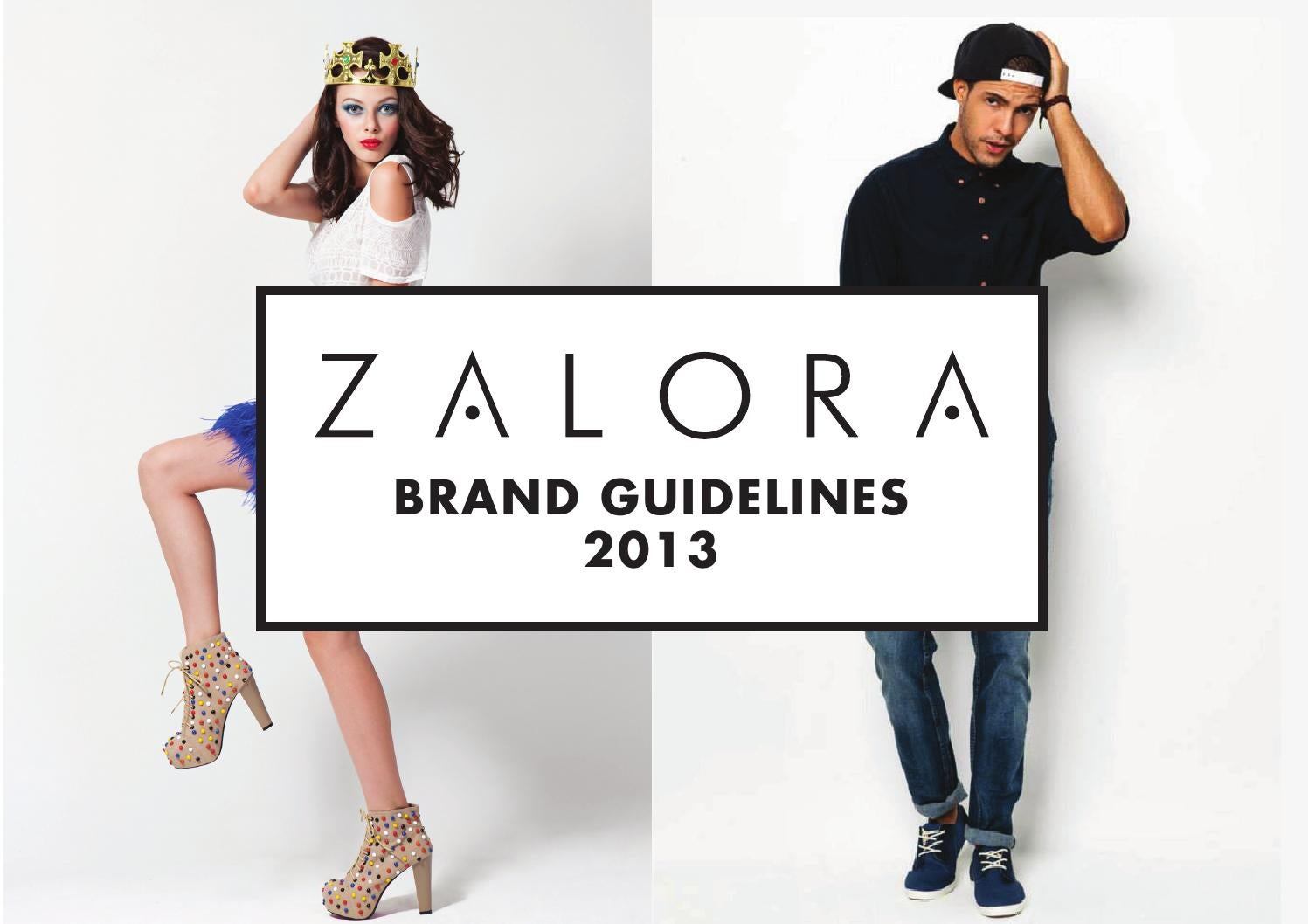 2013 Zalora Brand Guidelines By Dione Song Issuu