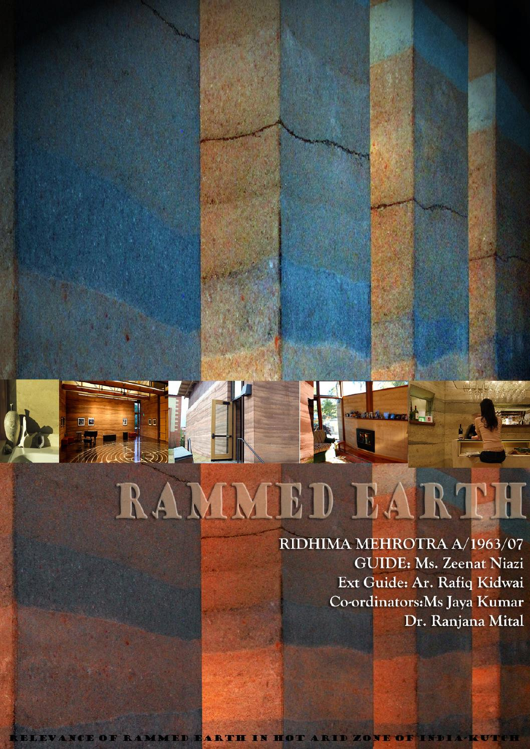 Rammed earth-The relevance of rammed earth in hot arid zone ... on earthships house plans, recycled materials house plans, passive solar house plans, sustainability house plans, sod house plans, faswall house plans, permaculture house plans, winery house plans, earthen homes plans, stick style house plans, earth block house plans, earth home plans, art house plans, clay house plans, earthbag house plans, 20' x 70' house plans, house house plans, straw bale house plans, structurally insulated panels house plans, rustic texas style house plans,
