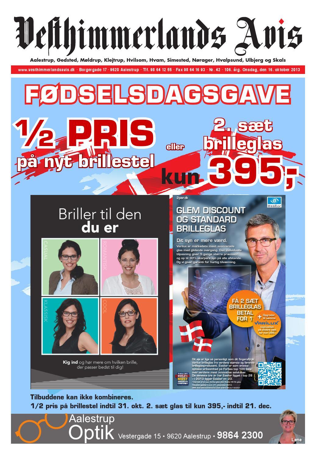 2f78c37a7a70 Vesthimmerlands Avis nr. 42 - 2013 by Vesthimmerlands Avis - issuu