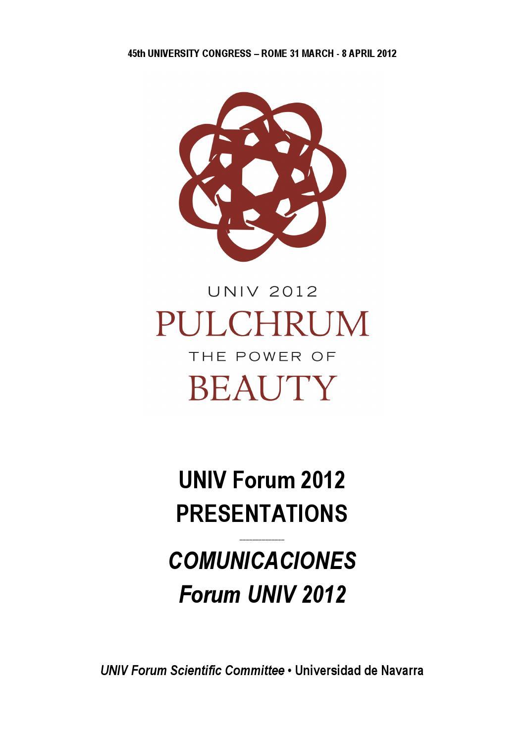 UNIV Forum 2012 \