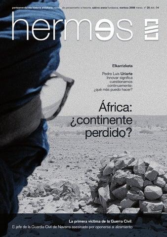Hermes 26: África, ¿continente perdido? by Sabino Arana Fundazioa ...