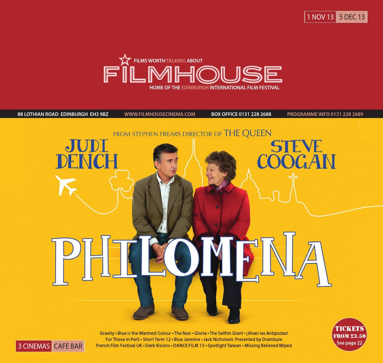 6df062be2 Filmhouse Nov 2013 by Filmhouse - issuu