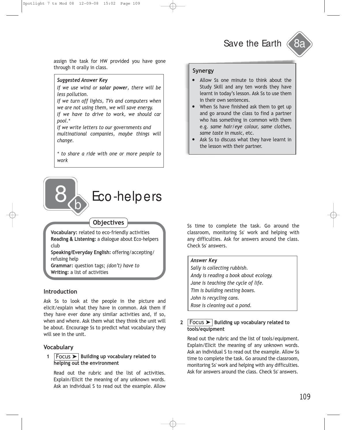 Решебник Spotlight 7 Класс Онлайн Ответы